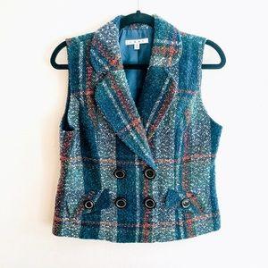 CAbi Tweed Vest Size Medium